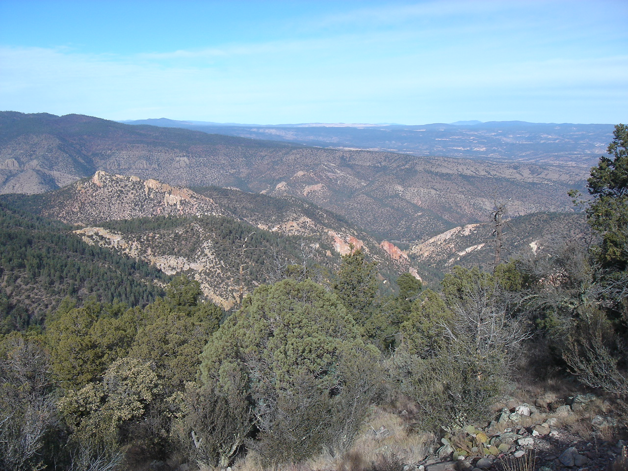 December 15, The Gila Wilderness, NM