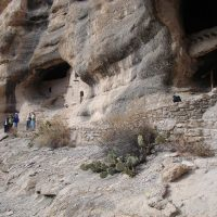 December 15, Indian Caves at Gila Hot Springs, NM