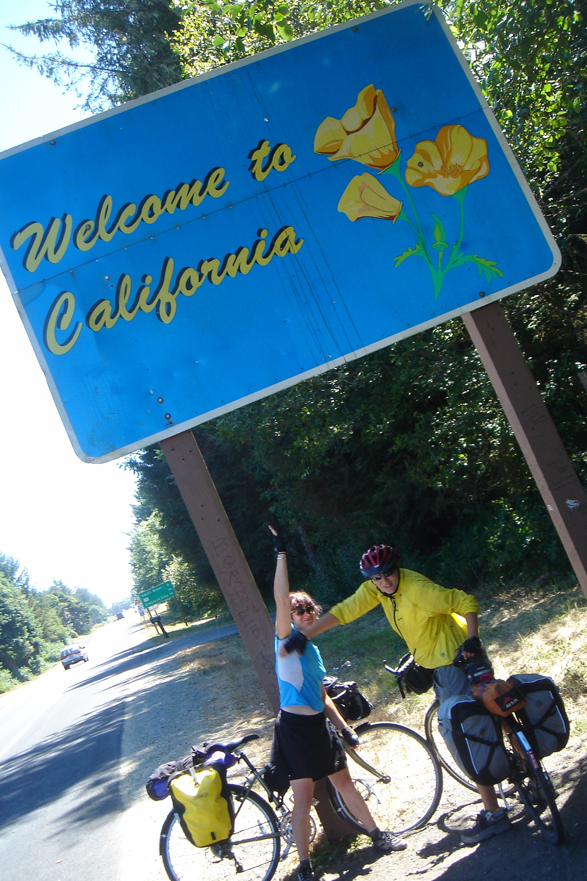 July 29, California State Line