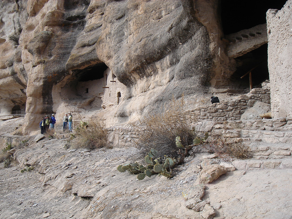 December 15, 2005, Native American Caves at Gila Hot Springs