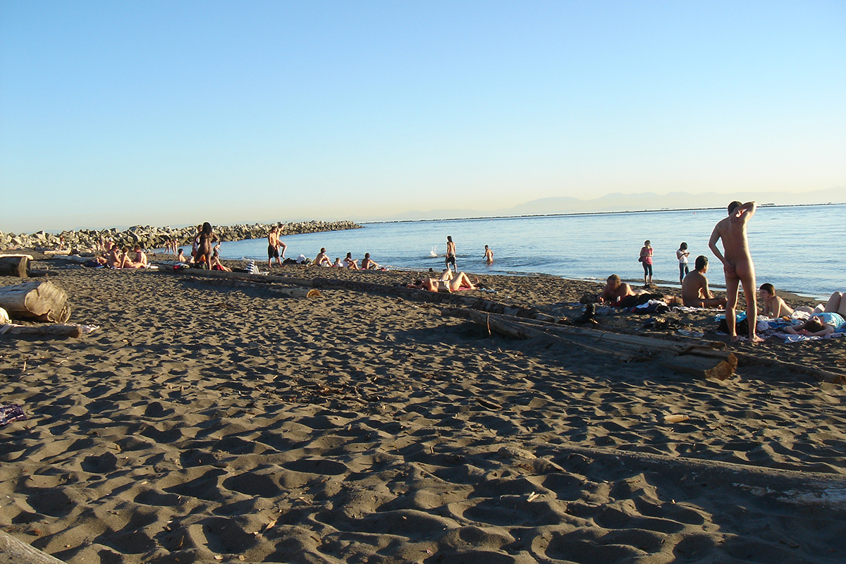 July 2, 2006, Wreck Beach in Vancouver