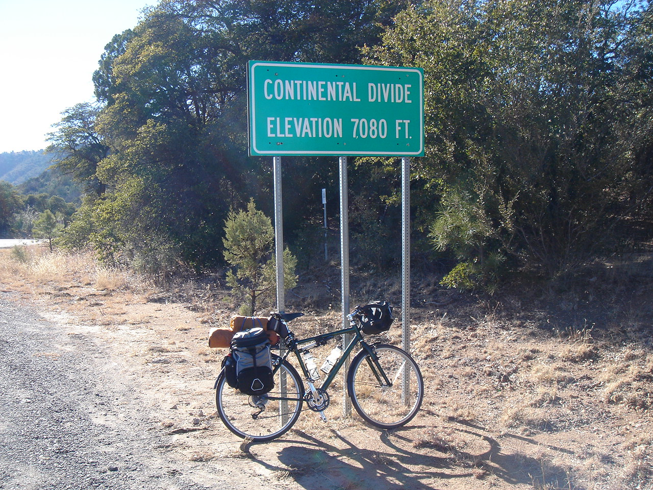 December 16, 2005, Continental Divide near Silver City, NM